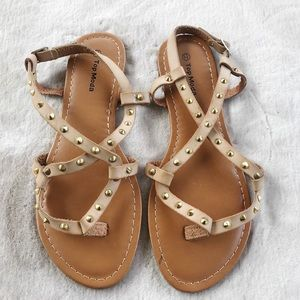 Top Moda Sandals with Studs
